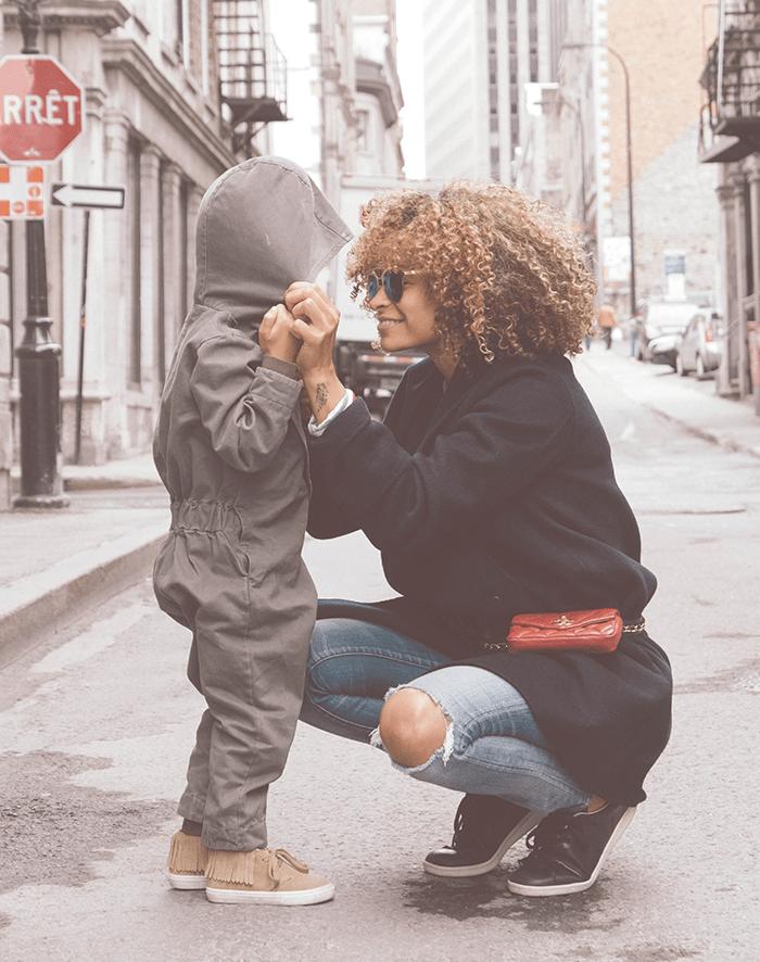 maman solo et son fils